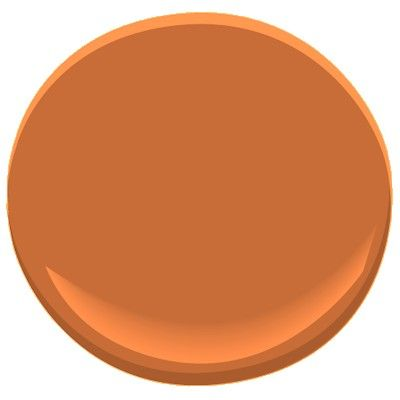 Pantone 39 S Pureed Pumpkin Is Interpreted As Benjamin Moore