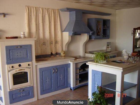 Fabricacion de cocinas empotradas en mamposteria cemento - Cocinas rusticas de mamposteria ...