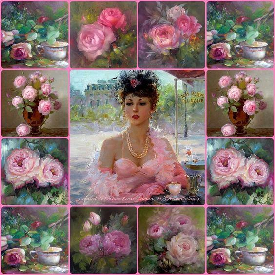 '' Pink Beauty '' by Reyhan Seran Dursun: