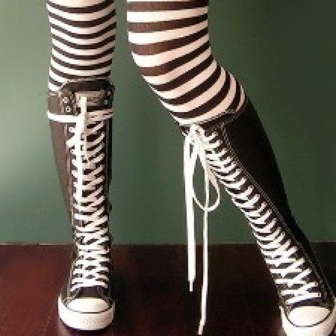 Converse Thigh High Sneaker Boots in
