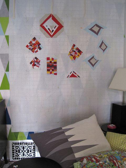 teeny tiny patchwork by @Katie Pedersen