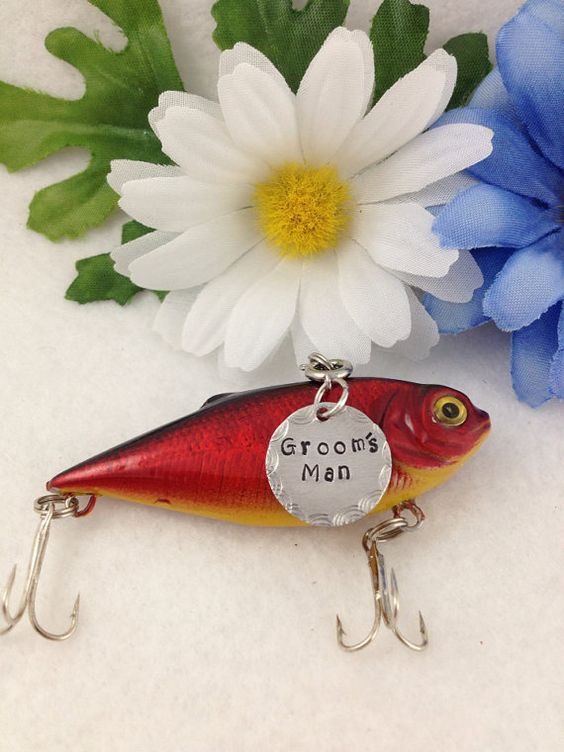 Customized Fishing Lure with Your Special Message on Etsy, $20.00