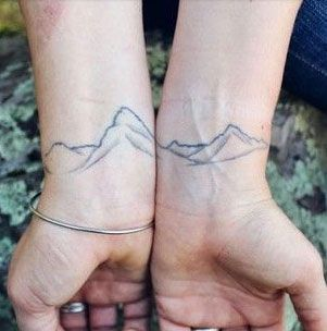 These people love adventure so much, they got it tattooed on them... forever