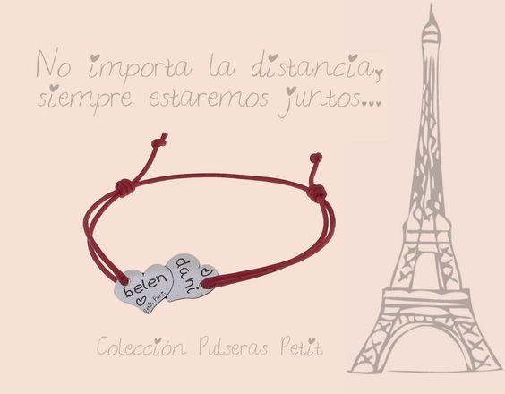 """""""No importa la distancia, siempre estaremos juntos..."""" Petit Paris"""