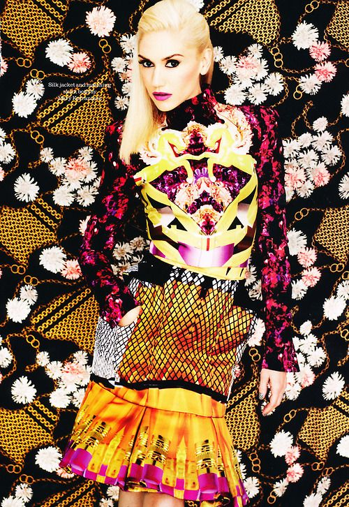 #GwenStefani - #Elle UK by #MattIrwin, October 2012
