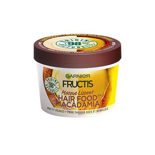 Avis Masque Lissant Hair Food Macadamia Fructis De Garnier Lucette Soins Capillaires Soin De La Peau Masques Capillaires