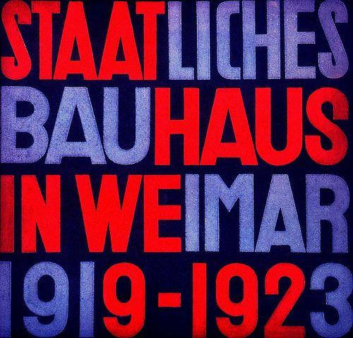 national bauhaus exhibition 1919-1923 weimar