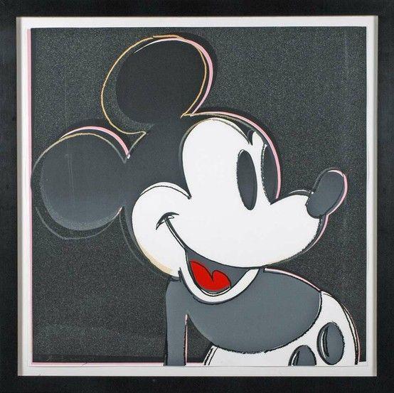 Mickey, Andy Warhol
