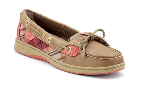 leather gold glitter and sperrys angelfish on