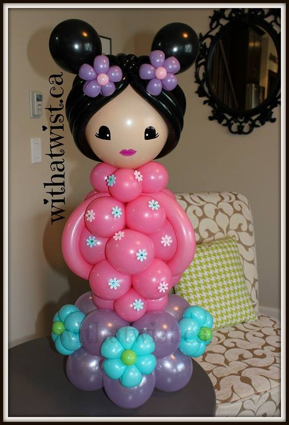 Chinesse girl balloon Pinterest Chicas y Chino