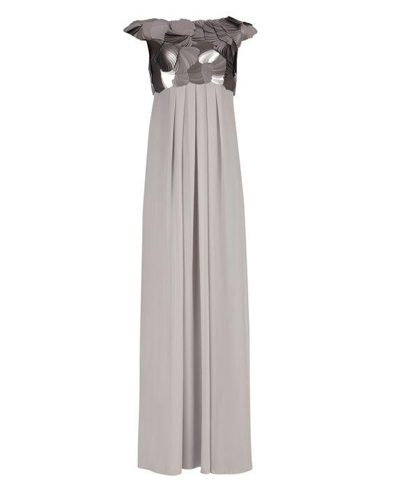HAYLEI - Sequin maxi dress