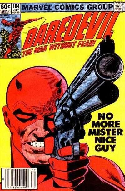 Daredevil #184 - Good Guys Wear Red! (Issue)