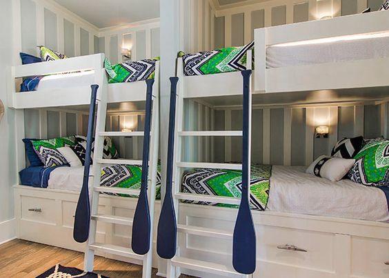 Bunk room henderson development and design bunk rooms for Beach house loft design