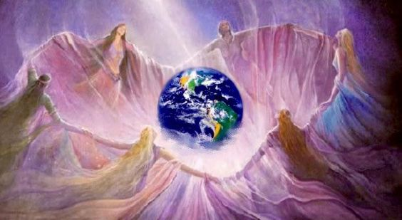 Risultati immagini per unione di luce spirituale: