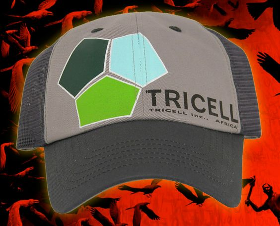 From the Resident Evil 5 video game, NECA presents a Tricell logo hat!