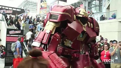 Hulkbuster Iron Man New York Comicon, 2015