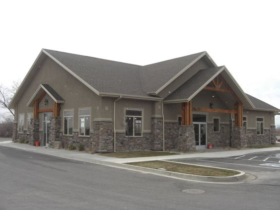 Metal Commercial Buildings With Stucco