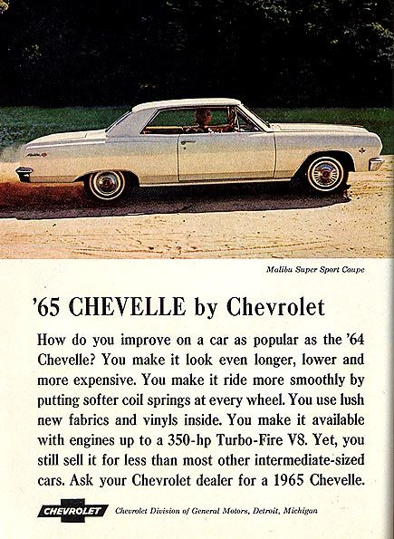 Chevrolet Chevelle...1965