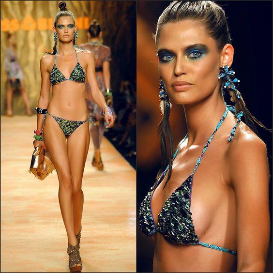 Miss Bikini Luxe S/S - Milan Bianca Balti