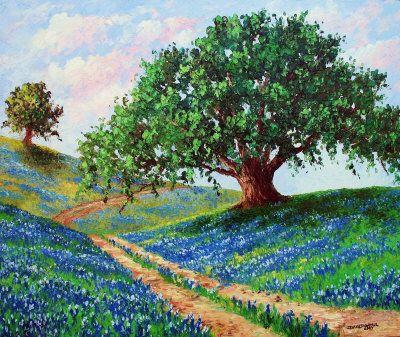 Bluebonnet Road - David G. Paul