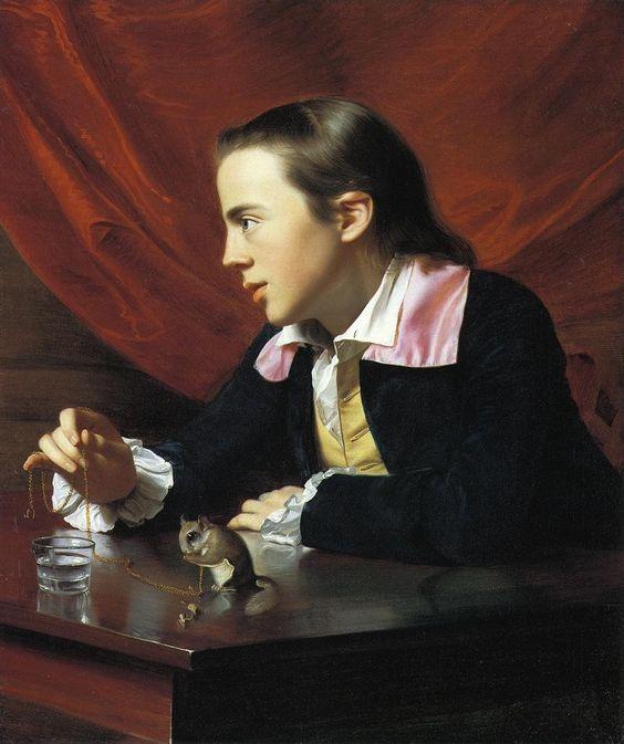 John Singleton Copley, Boy with a Squirrel, 1765, Museum of Fine Arts, Boston