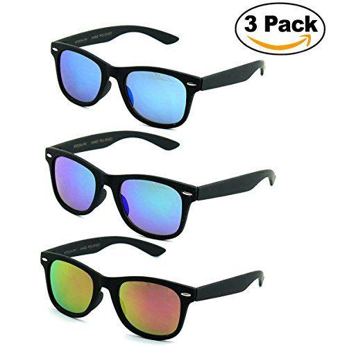 Newbee Fashion Kids 80s Classic Vintage Retro Style Mirrored Lens Camo Design Fashion Sunglasses Camouflage