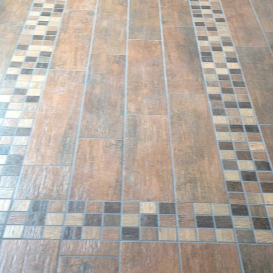Wood tiles tile and faux wood tiles on pinterest for Dog proof wood floors