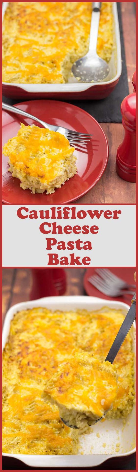 Recipe for cauliflower cheese pasta bake