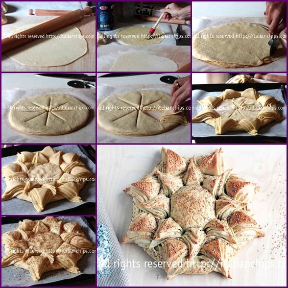 How to Make Happy Sunflower Bread tutorial and instructions.