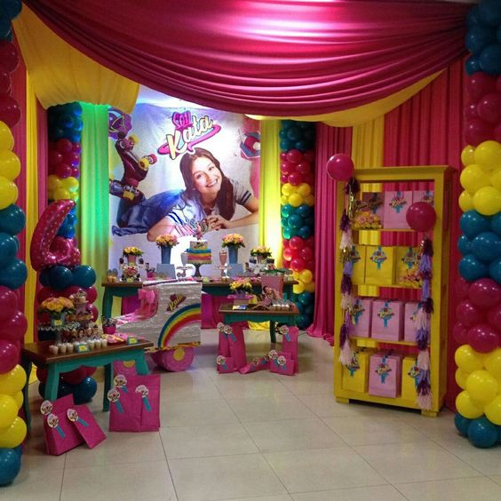 Decoracion de soy luna fiestas decoracion pinterest - Co co sevilla ...
