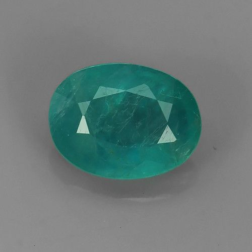 Natural Sapphire Chakra Healing Gemstone Point with Natural Green Garnet Pendant