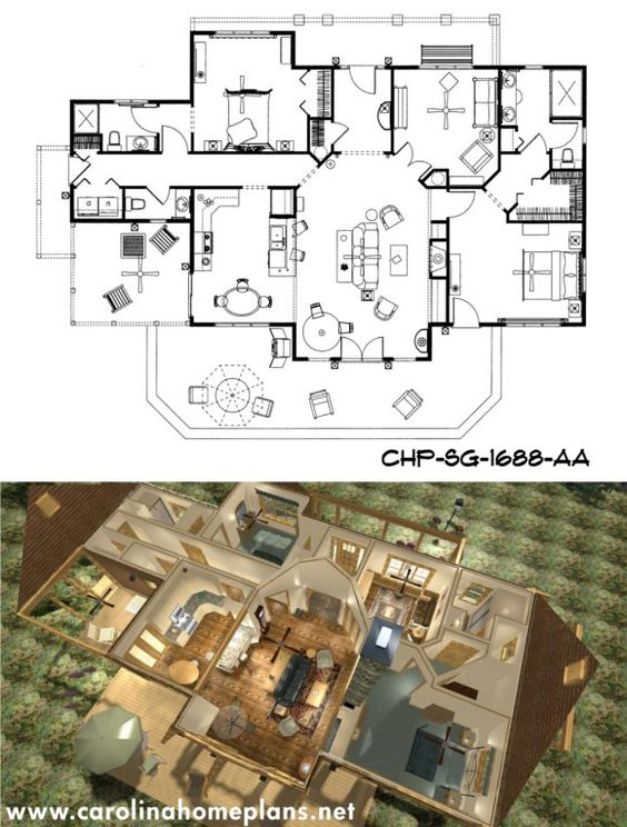See House Plans In 3d House Plans