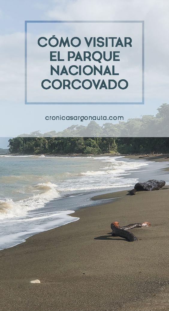Cómo llegar y visitar el Parque Nacional Corcovado en Costa Rica. Todo lo que debes saber para disfrutarlo al máximo.