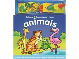 #Animais: Brinque e Aprenda com Ímãs - Lafonte #livros #infantil