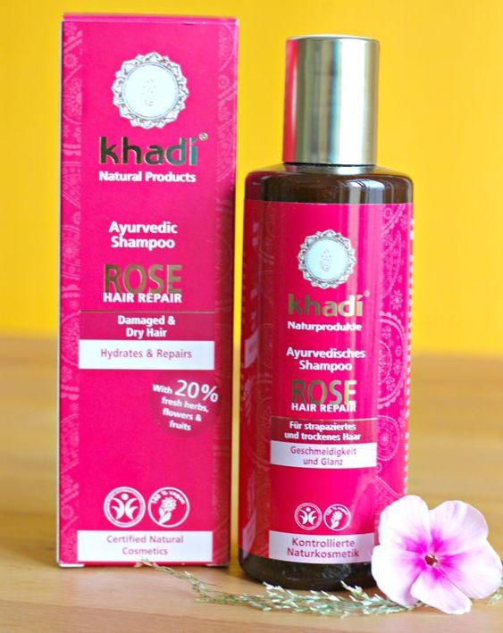 Khadi Rose Hair Repair Shampoo for damaged Hair :)