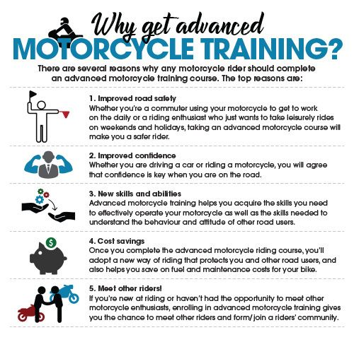 Why Advanced Motorcycle Training Is Beneficial Train Motorcycle Advanced Training