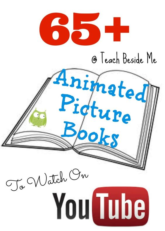 Who knew that there were #picturebooks on Youtube?  thanks to @TeachBesideMe I now do.  Great names such as #barefootbooks is included in the extensive list #homeschoollinkup