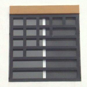 Fotograf a de dise o de protecciones de ventanas elaboradas con rejas de herrer a rejas Rejas de diseno