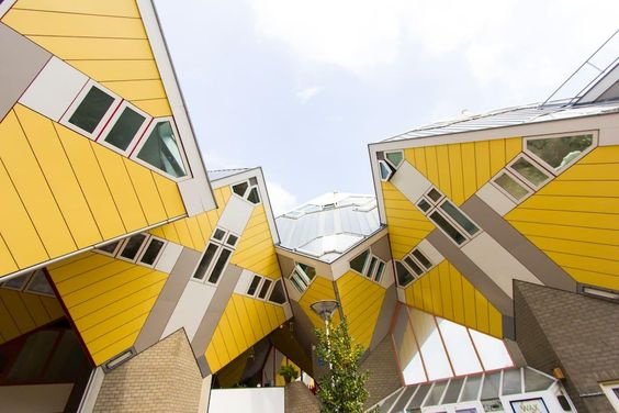 the Cubehouse in Rotterdam