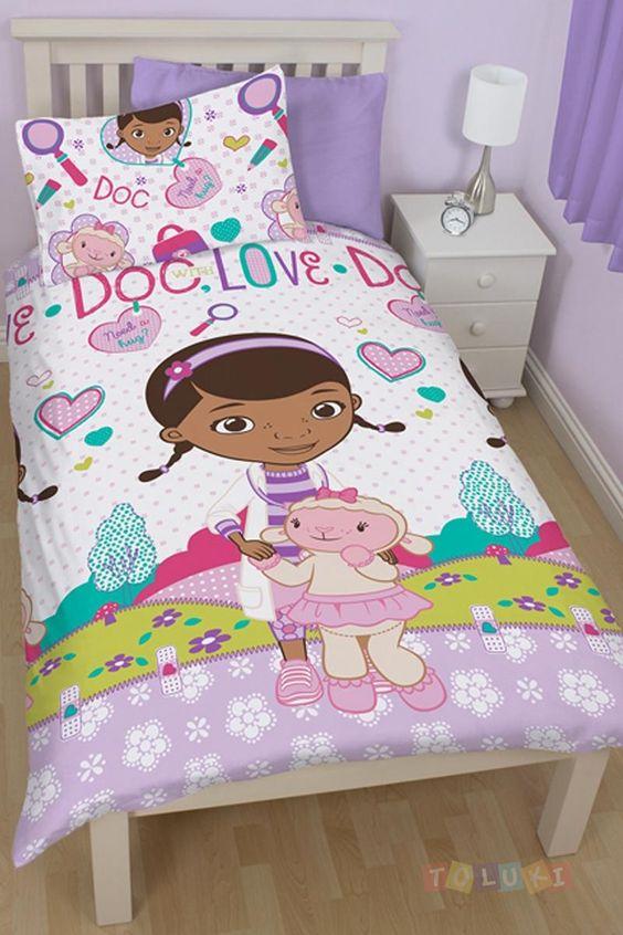 Parure de lit Docteur La Peluche Doc love http://www.toluki.com/prod.php?id=589 #Toluki #enfants