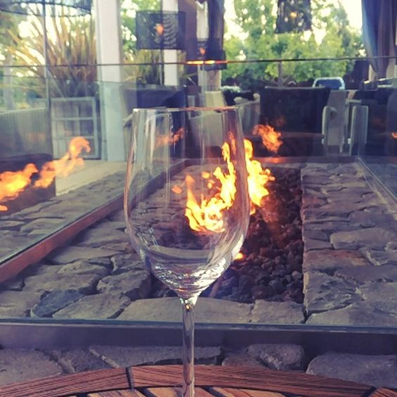 A toast to #WineWednesday # #wine #vino #napa #napavalley #carnerosinn #FARM #fire #currentmood #visitnapavalley #slomo #slomowinepour