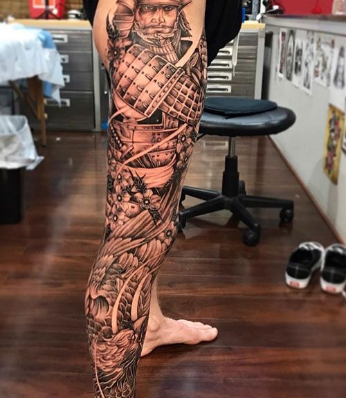 125 Best Leg Tattoos For Men Cool Ideas Designs 2020 Guide Best Leg Tattoos Leg Tattoo Men Japanese Leg Tattoo