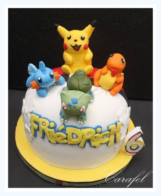 Pokemon Cakes Pinterest Birthdays And