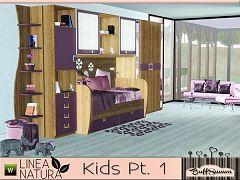Sims 3 kids, room, furniture