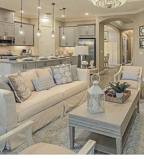 35 Recreate Modern Cozy Living Room Decor Ideas In 2020 Cream