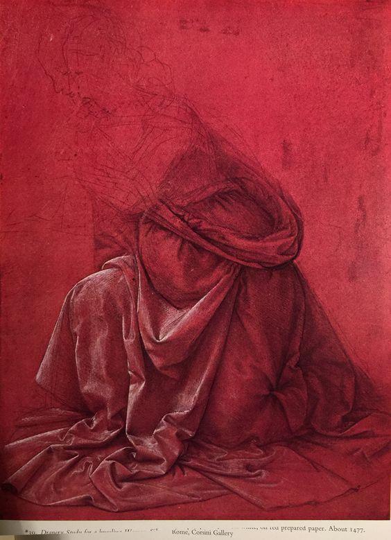 leonardo's red paper