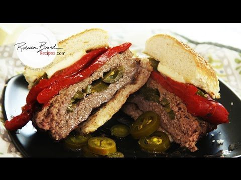Jalapeno Butter Burger Recipe:  How to Grill a  Butter Burger!