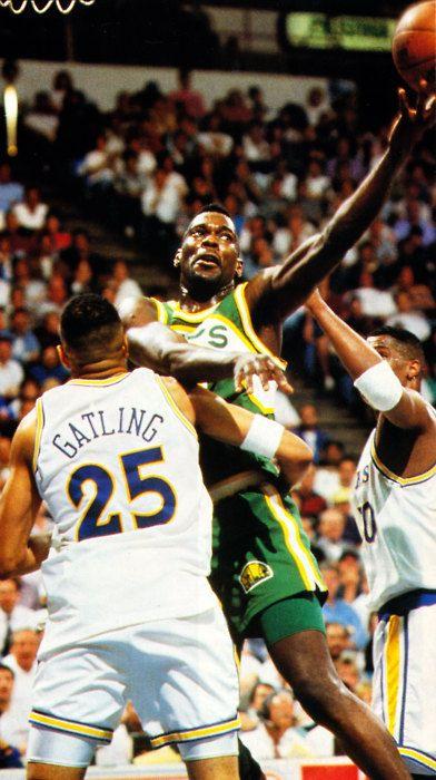 Shawn Kemp against the Warriors- 1992