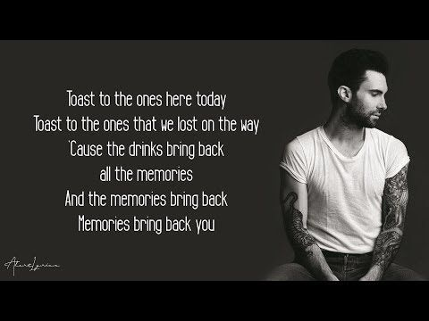 Maroon 5 Memories Lyrics Youtube Maroon 5 Quotes Memories Quotes Maroon 5 Lyrics