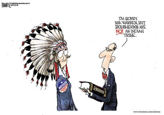 You mean Elizabeth Warren is NOT a native American?